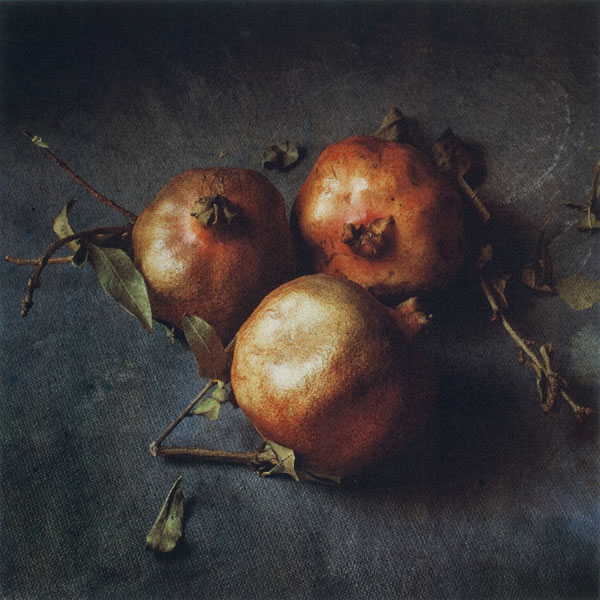 Three Pomegranites, by Cy DeCosse.