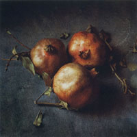 Three Pomegranites