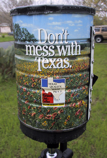 Don't mess with Texas motif