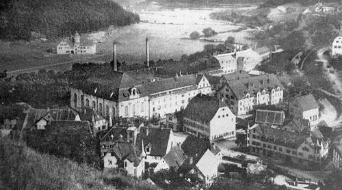 Mauser fábrica en 1910