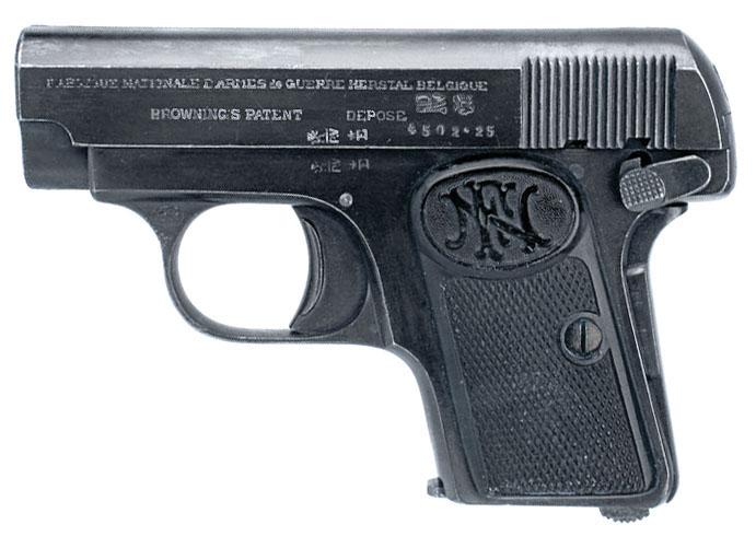 Colt hammerless 1908