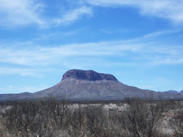 Butte, Northern Chihuahua