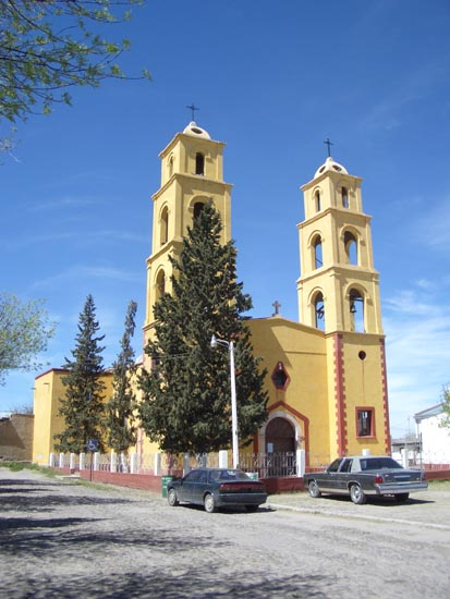 Church in Casas Grandes Viejo